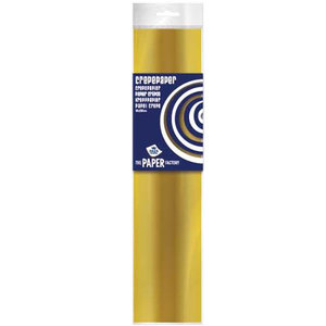 Crêpepapier goudkleurig