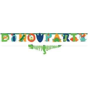 Letterslinger set Dino Party
