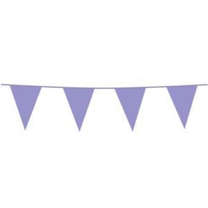 Vlaggenlijn lichtpaars