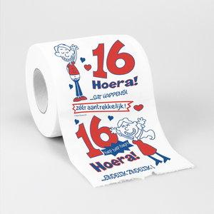 Toiletpapier 16 jaar