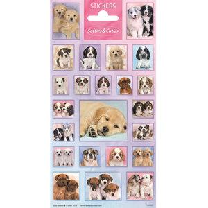 Stickers hondjes 23 stuks