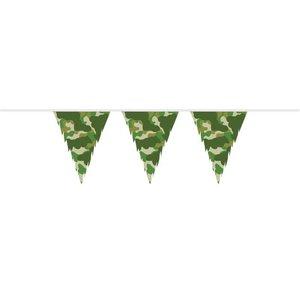 Vlaggenlijn Camouflage 10 meter