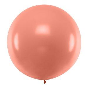 Ballon jumbo rosé - koper 90cm