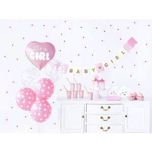 Decoratie set It's a Girl 49-delig