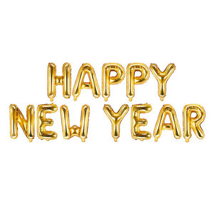 Folieballon Happy New Year MEGA
