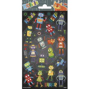 Stickers Robot 25 stuks