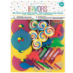 Pinata speelgoed met dino's 36-delig