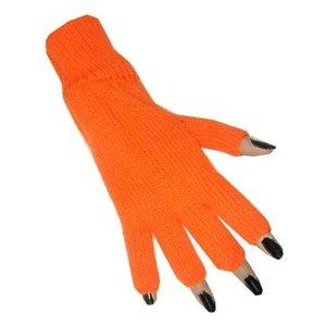 Handschoenen vingerloos oranje