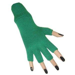 Handschoenen vingerloos donkergroen
