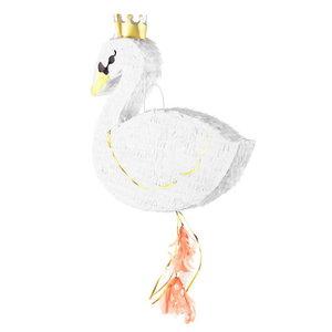 Pinata Prinsessen Zwaan met kroontje