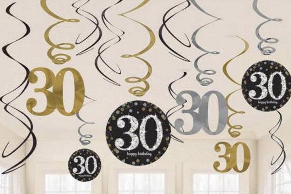 30 jaar decoraties