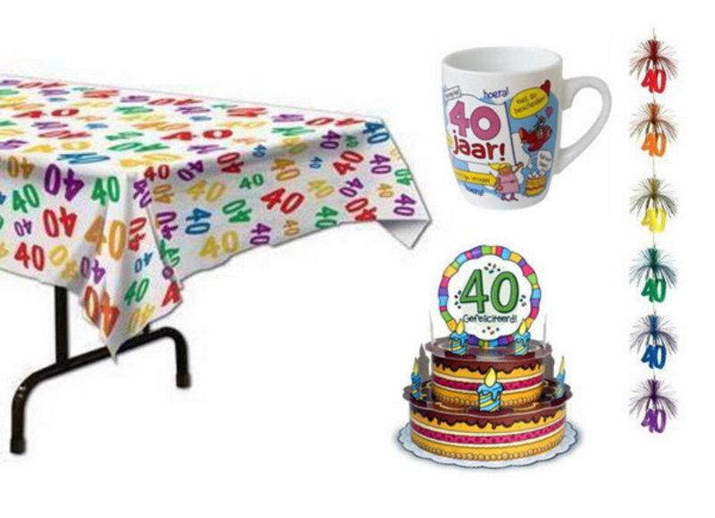 Alle 40 jaar feestartikelen