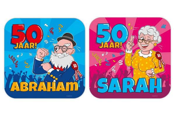 50 jaar decoraties