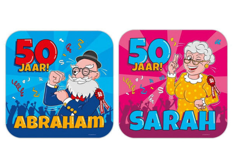 50 jaar decoraties