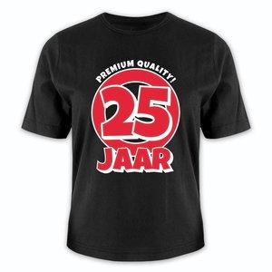 T-shirt 25 jaar premium quality