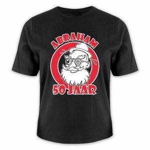 T-shirt Abraham 50 jaar