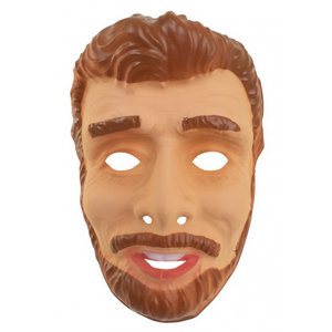 Masker Abraham jong met baard