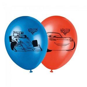 Ballonnen Cars 8 stuks