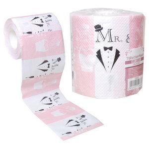 Toiletpapier Mr & Mrs