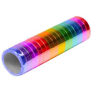 Serpentine slingers metallic rainbow 3 stuks