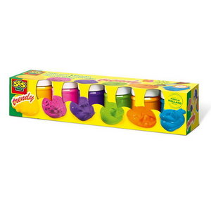 Plakkaatverf Trendy kleuren 6 x 50ml