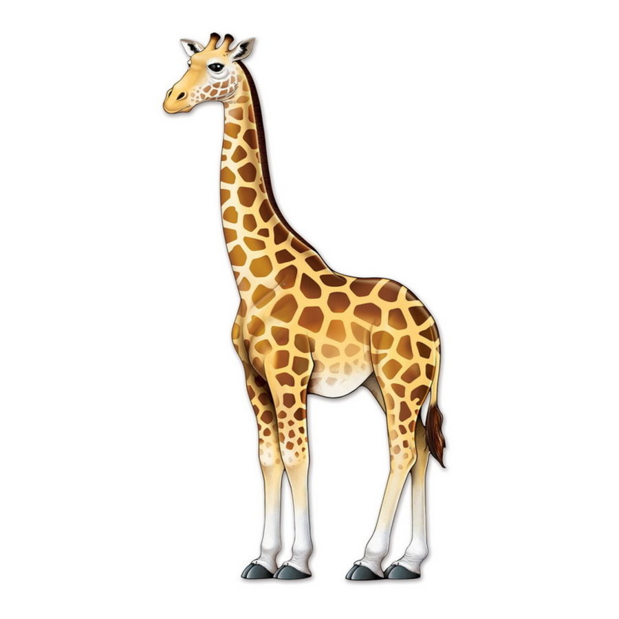 Decoratie Giraffe