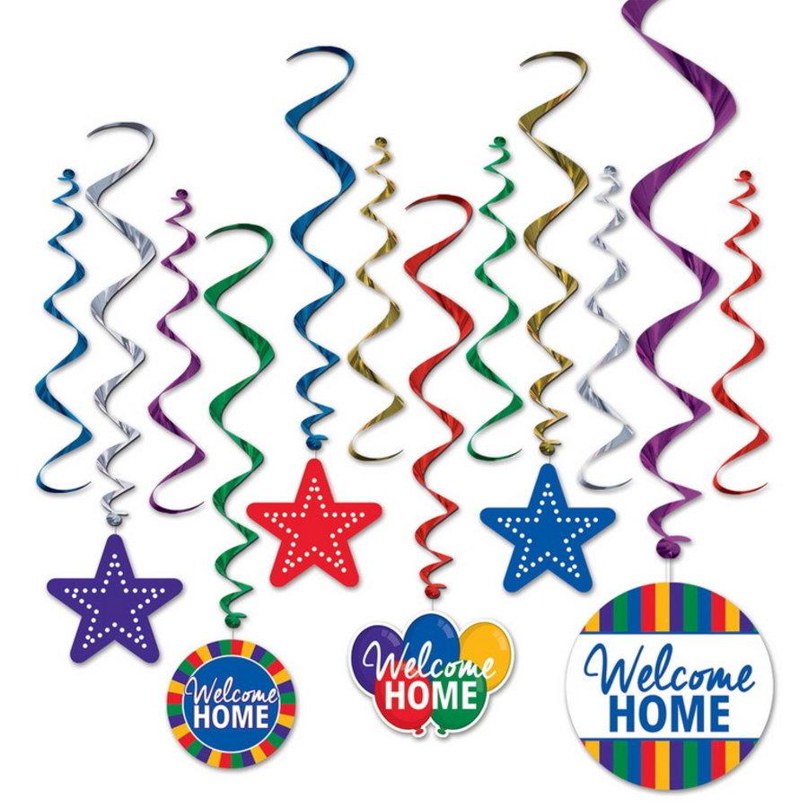 Hangdecoratie Welcome Home 12 delig
