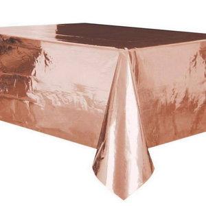 Tafelkleed Rosé goud metallic