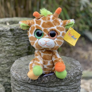 Pluche knuffel giraffe 25cm
