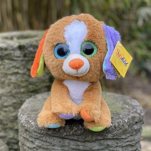 Pluche knuffel hond 25cm