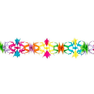 Slinger Floral gekleurd 6 meter