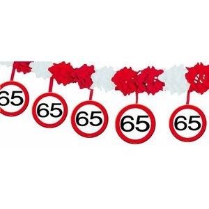 Slinger papier verkeersbord 65 jaar