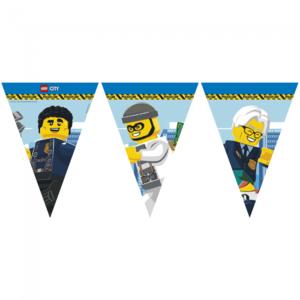 Vlaggenlijn Politie Lego City 2.3m