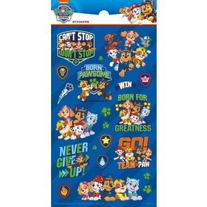 Stickers Paw Patrol Never Give Up 21 stuks