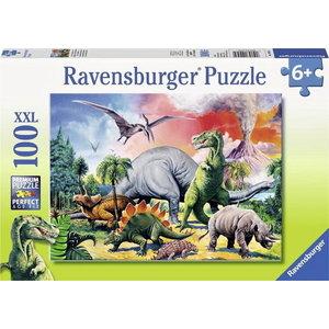 Legpuzzel Dinosaurus 100 XXL stukjes