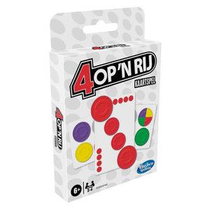 Vier op een rij kaartspel
