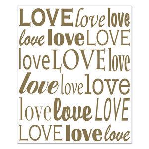 Achtergrond Wanddecoratie LOVE