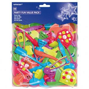 Piñata speelgoed diversen 48 stuks