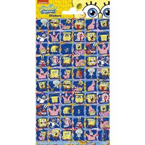 Stickers Spongebob en friends 60 stuks