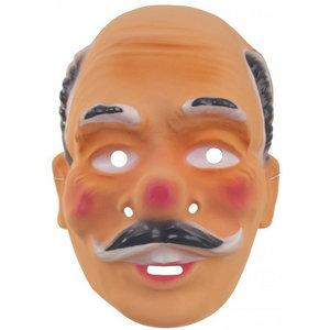 Masker Abraham oud met siersnor