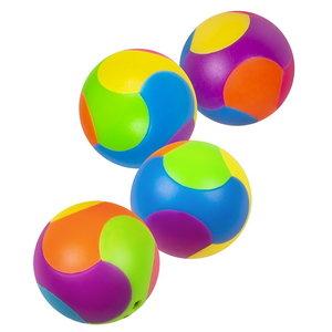 Puzzelballetjes 4 stuks