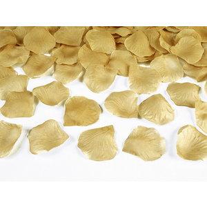 Rozenblaadjes goudkleurig 100 stuks