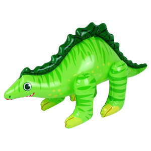 Opblaasbare Dinosaurus groen 70cm