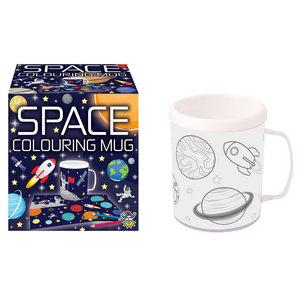 Mok Space om zelf in te kleuren
