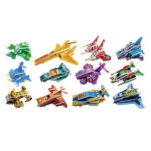 3D Puzzels Space voertuigen 8 stuks