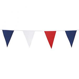 Vlaggenlijn katoen 10 meter Rood-Wit-Blauw