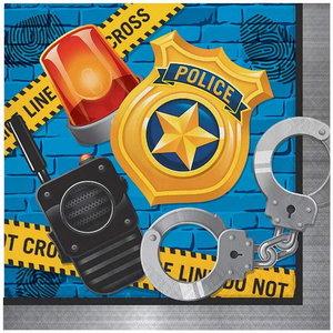 Servetten politie accessoires