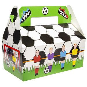 Partybox Voetbal 8 stuks