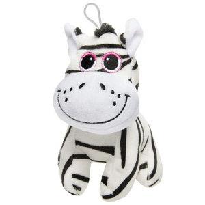 Plucheknuffel Zebra 16cm