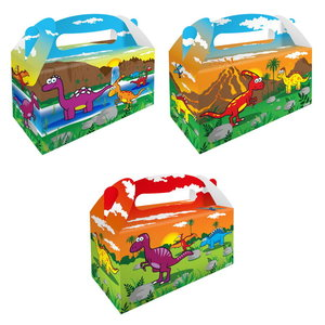 Partybox Dinosaurus 8 stuks
